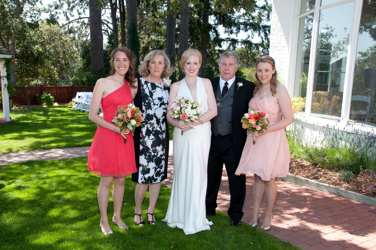 Christine, Susan, Elizabeth, Glen, and Kathryn.