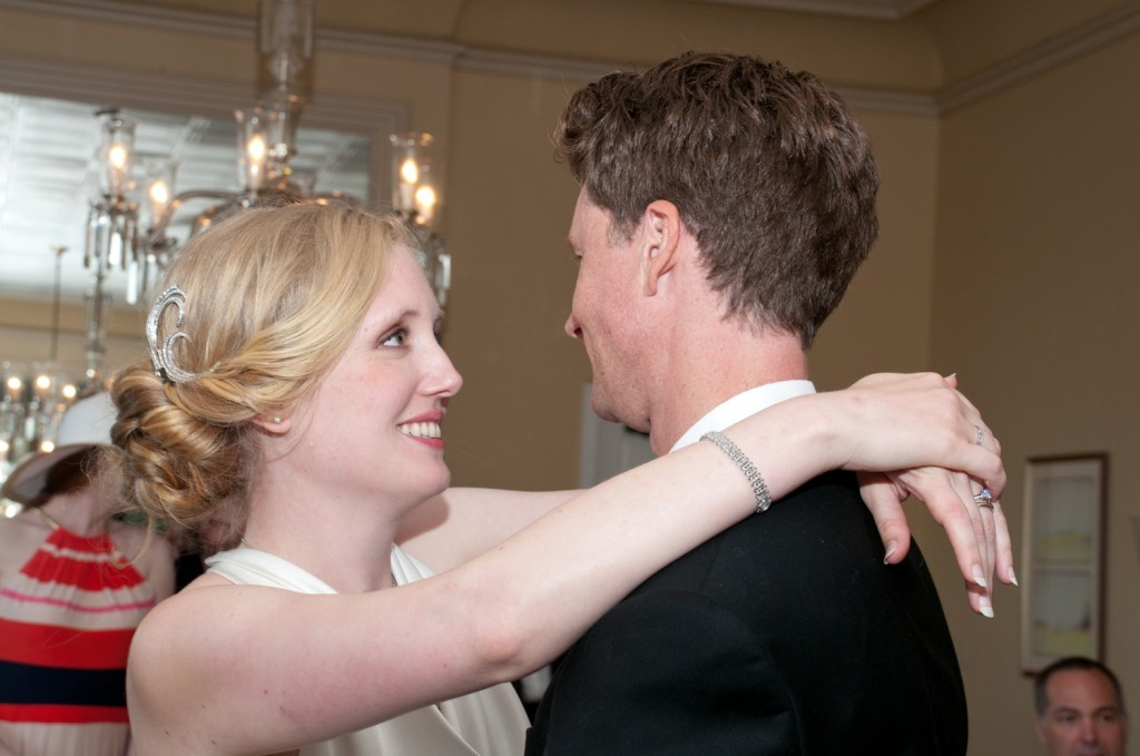 Jerram and Elizabeth also enjoy the dance as a quiet moment to talk together.  And Jerram is fun to talk to.